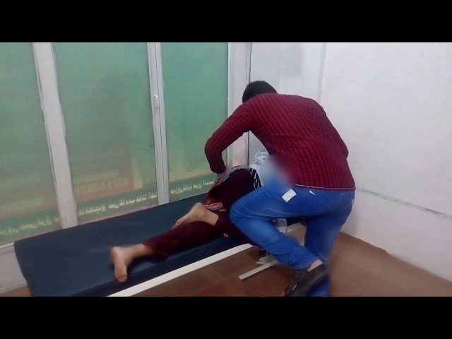 Reduce Nerve Pressure in Neck & Shoulder CPT PAKISTAN adjustment by chiropractor Aamir Shahzad