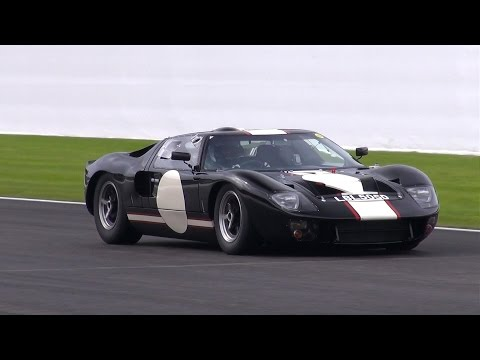 You Have to Hear this Ford GT40 Mk2 Thunder Around the Track