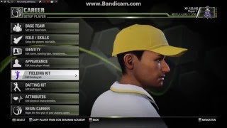 Don Bradman Cricket 14 : Starting a New Career With India
