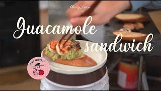 과카몰리 오픈샌드위치 ㅣ 초간단 감성캠핑 요리 ㅣ 오픈…