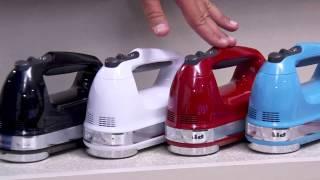 KitchenAid 9-speed Digital Hand Mixer w/ Wire Whisk & Blender Rod with Jill Bauer