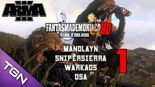ARMA 3   Mision Coop Prototype   Manolayn, Warkaos, DSA, Snipersierra   Parte 1