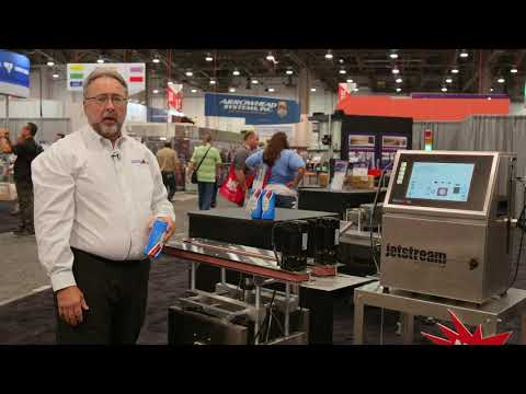 Squid Ink's JetStream CIJ Printing System On Display At Pack Expo 2019