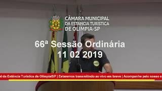 66ª Sessão Ordinária 2019 11-02-2019