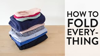How to Fold Everything