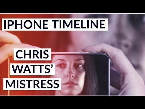 Chris Watts MISTRESS iPhone Timeline BOMBSHELL