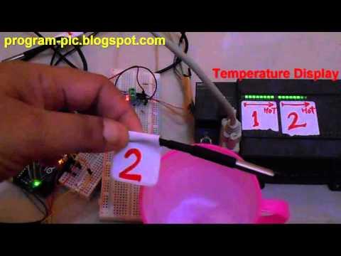 Multiple Ds18b20 Digital Temperature Sensor To Plc Using