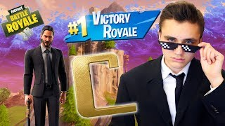 IF HE'S ON THE TOP 1, I'LL GIVE HIM THE JOHN WICK SKIN! - FORTNITE BATTLE ROYALE - Neo The One