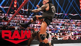 Randy Orton kicks Keith Lee in the skull: Raw, Sept. 21, 2020