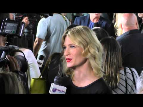 January Jones talks about Last Man On Earth at Comic Con