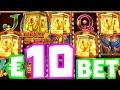 Legacy Of Dead Slot 🔥 Bonus Hunt Big Win on this €10 Bet Bonus Double Retrigger 24 Free Spins‼️