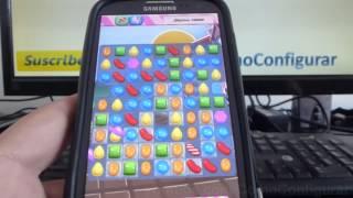 como jugar candy crush trucos samsung Galaxy s3 i9300 español Full HD