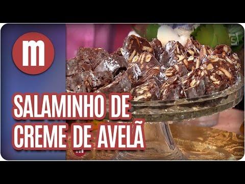 Salaminho de creme de avelã - Mulheres (05/04/17)