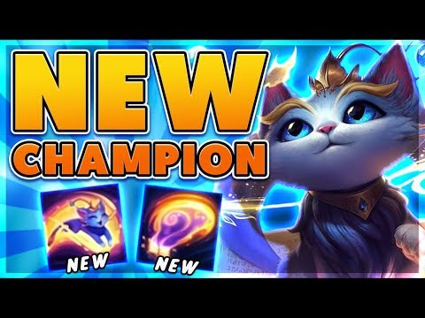 *YUUMI GAMEPLAY* RIOT HAS GONE CRAZY (NEW UNTAGETABLE CHAMPION) - BunnyFuFuu