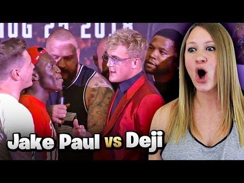 JAKE PAUL VS. DEJI PRESS CONFERENCE [HIGHLIGHTS]   My Reaction