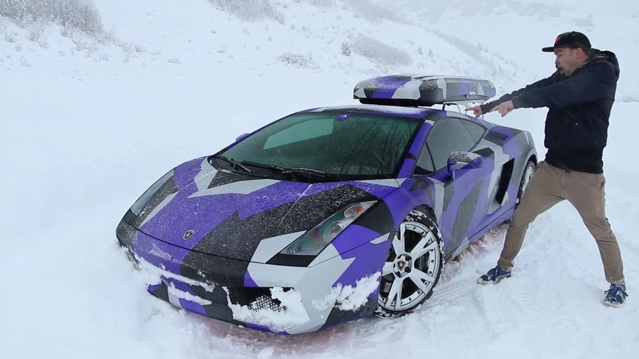 We Wrapped The Stradman S Lamborghini Gallardo Youtube