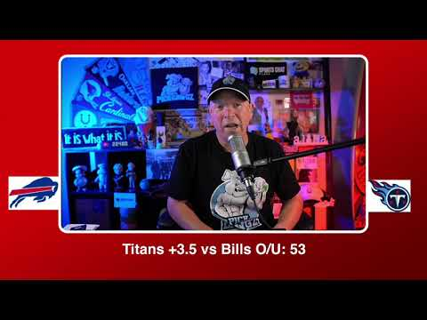 Tennessee Titans vs Buffalo Bills NFL Pick and Prediction Tuesday 10/13/20 Week 5 NFL
