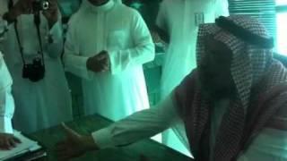 امين عسير يطرد المواطنيين // خاص بصحيفة خاط