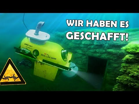 DIVING into a flooded PRISON!   Our homemade SUBMARINE (with ENGLISH SUBTITLES) #6