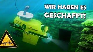 Mit unserem U-BOOT ins GEFÄNGNIS! | Badewannen U-Boot #6