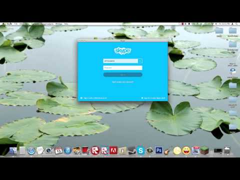 How To: Sign out of Skype on an iMac