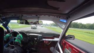 Ben Mcnally driving the #OBAMAexpress @ GP du Lac Chargoggagoggmanchauggagoggchaubunagungamaugg