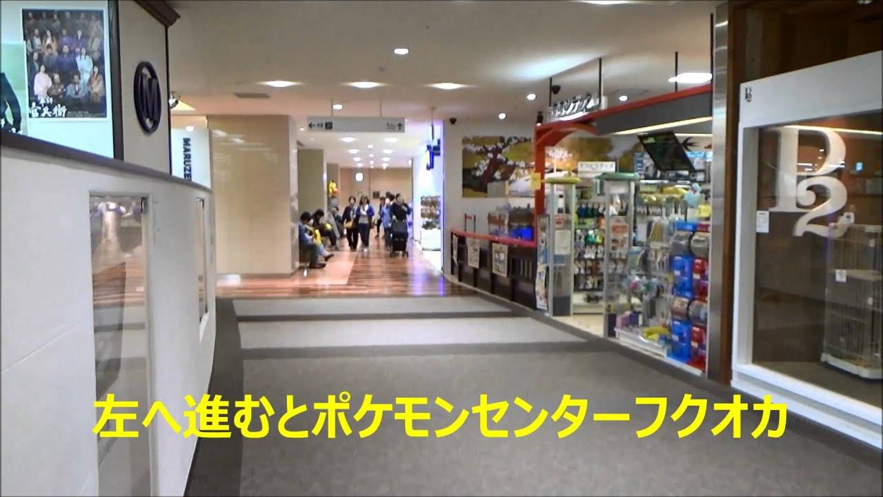 ポケモンセンターフクオカ 行き方 jr博多シティ 博多駅 - youtube