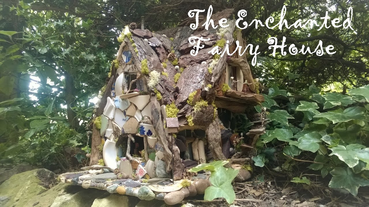 best fairy house ever binky 39 s enchanted fairy house youtube. Black Bedroom Furniture Sets. Home Design Ideas