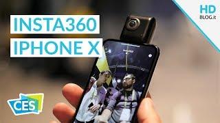 Insta360 Nano S, la cam 360° 4K per iPhone | CES 2018