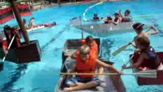 Brant's Cardboard Boat Demolition Event