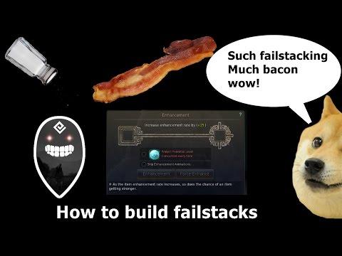 Black Desert - How To Build Failstacks.