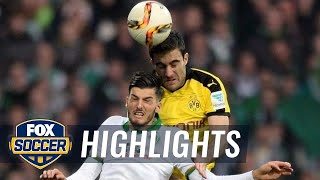 Werder Bremen vs. Borussia Dortmund | 2015–16 Bundesliga Highlights