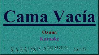 Cama Vacía - Ozuna  [ Karaoke ] Produce Cristian Remix Video