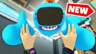 SHRINK HACK TO MICROSCOPIC SIZE IN Rick And Morty VR (Rick and Morty Virtual Rick-Ality Gameplay)