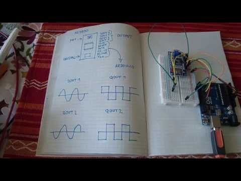 Arduino + AD9850 signal generator