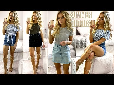 summer-outfits-of-the-week-/-summer-outfit-ideas-lookbook-2017