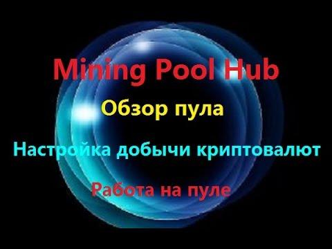 Mining Pool Hub - настройка добычи криптовалюты