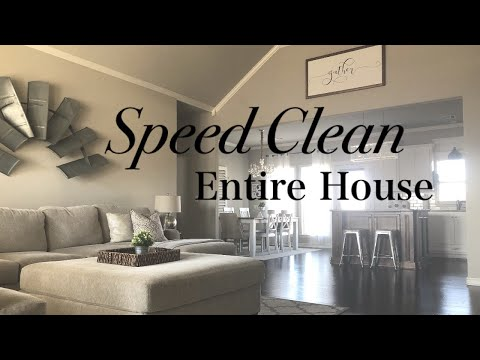 CLEAN WITH ME | 5 CLEANING STEPS | ENTIRE HOUSE