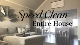 CLEAN WITH ME   5 CLEANING STEPS   ENTIRE HOUSE