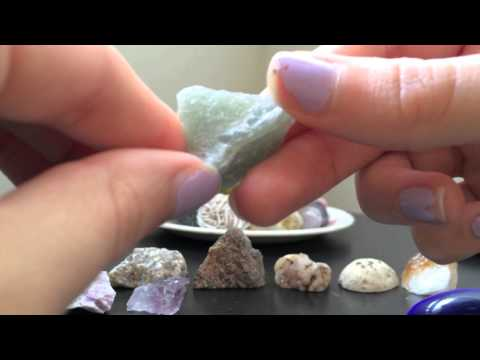 ASMR whispering - Describing crystals and minerals