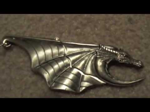 Dragon Knife Necklace