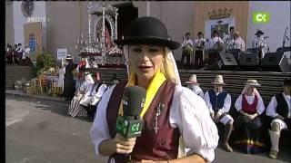 Romería y ofrenda folklórica y representación Guanche a La Virgen de Candelaria 2012