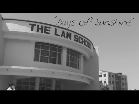 Days of Sunshine | The Law School | University of Jammu | Farewell video - The Class of '14