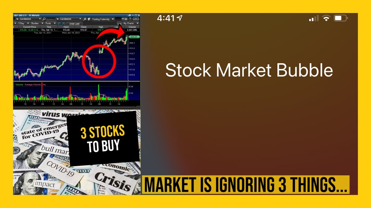 3 STOCKS FOR TOMORROW - My Watchlist - THE STOCK MARKET IS GOING TO START IGNORING THINGS!