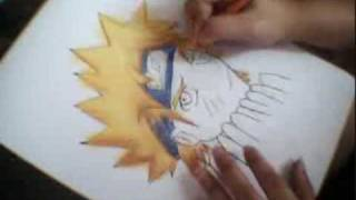 Naruto (how to draw and color)