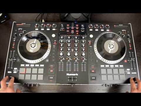 Numark NS7II Professional DJ Controller for Serato DJ HD-Video Review