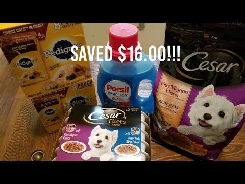 I Saved $16.00 On Dog Food W/ Family Dollar