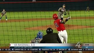 UA baseball starts season 4-0