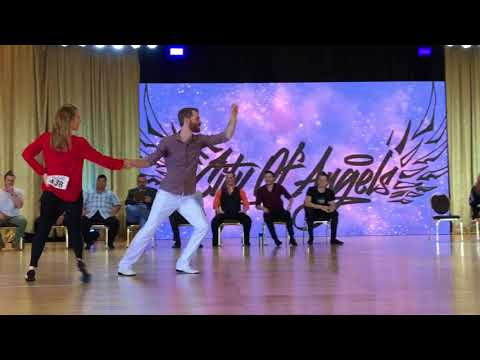 City of Angels 2018 All Stars JnJ - Kevin Kane & Natalia Kharlanova