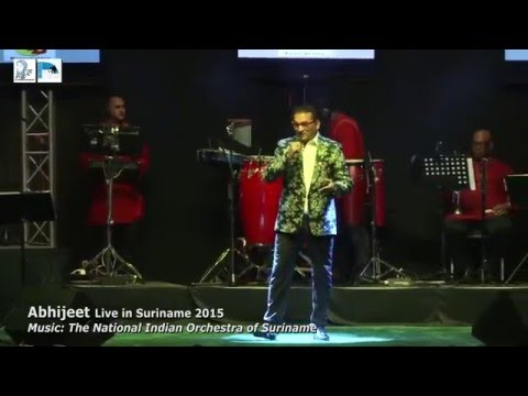 "Ra-Ni Entertainment - Abhijeet Bhattacharya Live In Suriname ""BAHUT KHOOBSOORAT HO"""